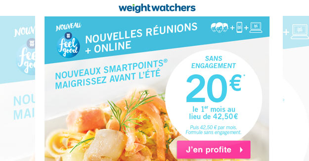 Shop at Weight Watchers. Use coupon code at checkout before Jun 17 to save $1 with this offer.